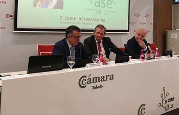 """Jornada """"Empresas y Bien Común"""" que se ha celebrado en la Cámara de Comercio de Toledo."""
