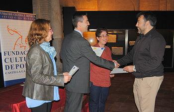 Javier Morales taller de empleo sobre restauración de patrimonio (2). Foto: JCCM.