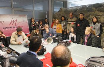 Encierro de delegados en la Delegación de la Junta en Toledo