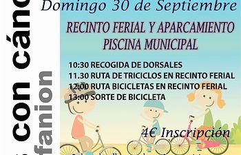 Presentación XI Carrera de bicicletas y triciclos de Afanion.