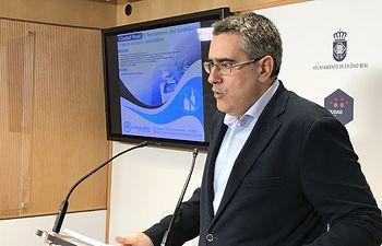 El portavoz del Grupo Municipal Popular del Ayuntamiento de Ciudad Real, Miguel Ángel Rodríguez.