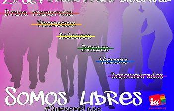 IU traslada a los portavoces municipales una propuesta de declaración institucional con motivo del 23 de septiembre - Día de la Visibilidad Bisexual