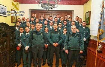 Un total de 38 nuevos guardias civiles se incorporan a la Comandancia de Ciudad Real.