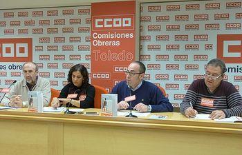 Julián Gutiérrez, Paula Guisande, Paco de la Rosa y Juan Antonio Navalón.