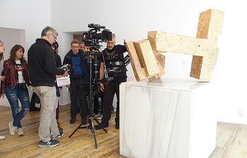 Grabación del documental sobre Cuenca para la serie 'Ciudades Patrimonio' que se emite en La2