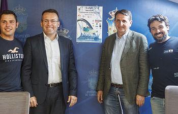 Presentación del Campeonato de España de Triatlón