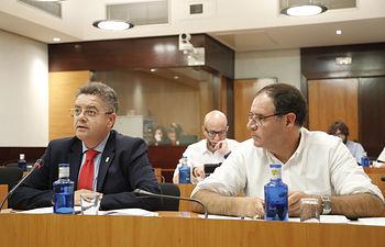 Juan Antonio Moreno y Benjamín Prieto. Foto: CARMEN TOLDOS