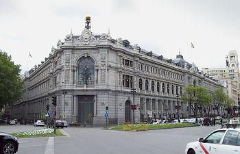 Banco de España - Madrid. Foto: Luis Garcia - Wikipedia.