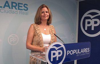 Cortes Valentín, diputada provincial del PP.