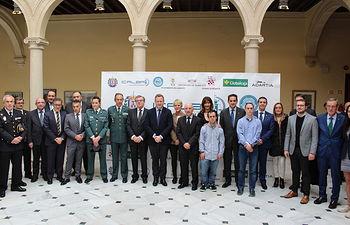 Entrega de premios con motivo del 185 aniversario del Ilustre Colegio de Abogacía de Albacete (ICALBA),.