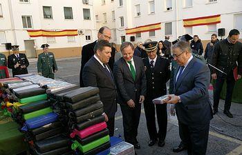 El ministro del Interior, Juan Ignacio Zoido, anunció en Valencia el tercer gran golpe contra el narcotráfico en tan solo 15 días tras la incautación en Valencia de 520 kilos de cocaína.