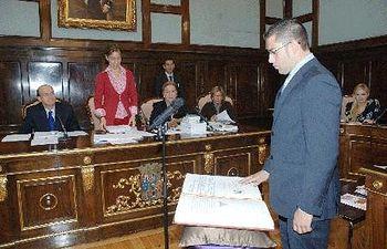 Jesús Parra tomó posesión como nuevo diputado provincial