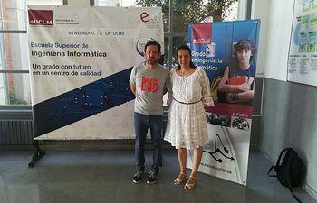 Los profesores Francisco Parreño y María Teresa Alonso reciben el premio al mejor artículo científico del Challenge ROADEF 2018