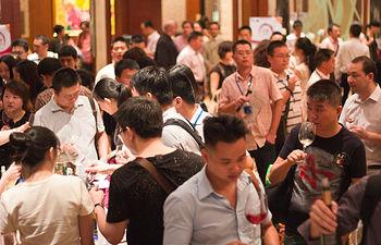 Numeroso interés en el Grand Tasting celebrado en China