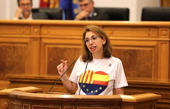 Úrsula López, diputada de Ciudadanos en las Cortes regionales.