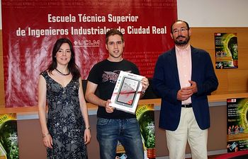 Raquel García, Marcos del Blanco y Jesús López.