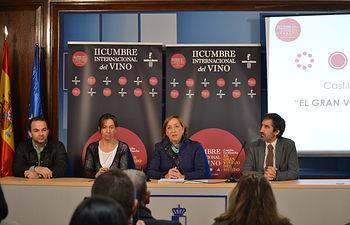 Soriano presentación Cumbre Internacional del Vino en Guadalajara(1). Foto: JCCM.