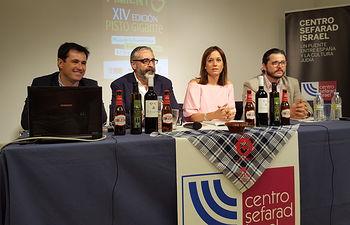 El Gobierno regional presenta en Madrid la iniciativa de Villanueva de los Infantes para conseguir el récord Guinness para su pisto manchego gigante. Foto: JCCM.