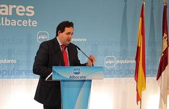 Francisco Núñez, presidente del PP de Albacete.