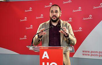 Miguel González, diputado nacional del PSOE.