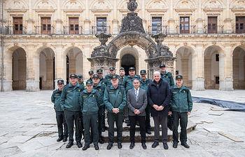 González Ramos preside la Junta de Coordinación de Zona de Guardia Civil en Uclés (Cuenca)