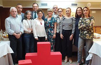 Cruz Roja Española en Albacete mantiene un desayuno con los directores de los medios de comunicación