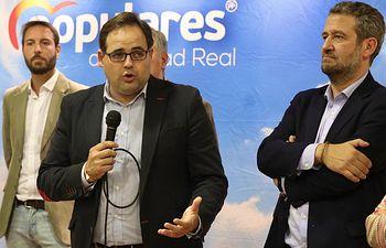 Curso de formación para alcaldes y concejales junto al vicesecretario nacional Jaime de Olano.