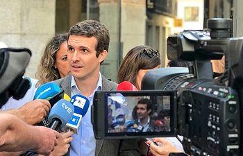 Pablo Casado en Toledo.