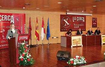 Los VI Premios Solidarios y el X Aniversario de la revista La Cerca fueron una cita para la reflexión