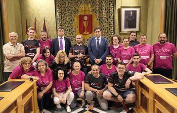 Voluntarios XV Congeso Toro de Cuerda.