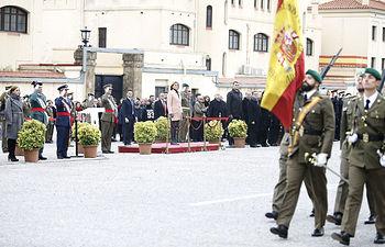 Cospedal preside en Barcelona la Patrona de Infantería. Foto: Ricardo A. Pérez/MDE