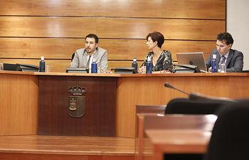 Toledo, 7 de octubre de 2019.- Celebración en las Cortes de Castilla-La Mancha de la Comisión Permanente no Legislativa para las Políticas Integrales de la Discapacidad. (FOTOS: Carmen Toldos).