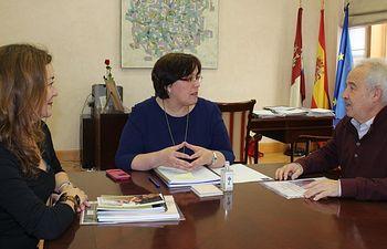 Carmen Olmedo con SOLMAN