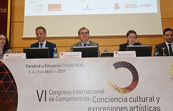 Inauguración del VI Congreso Internacional de Competencias de la Facultad de Educación de Ciudad Real.