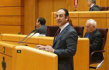 El senador por Extremadura, Diego Sánchez Duque