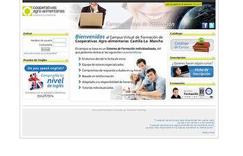 Formación online. Foto: Cooperativas Agro-alimentarias.