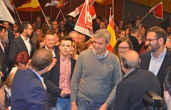 Acto electoral en Quintanar de la Orden (Toledo) junto a Emiliano García-Page, Álvaro Gutiérrez y Juan Carlos Navalón