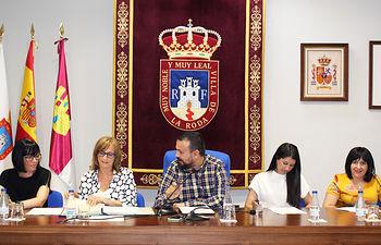 El Ayuntamiento de La Roda celebró el primer pleno de la presente legislatura.