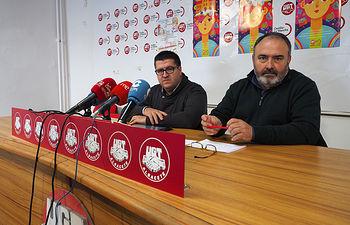 Carlos Pedrosa y Francisco Javier González valoran los datos del paro