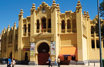 Plaza de Toros de Albacete, donde tantos triunfos ha cosechado Manuel Amador.