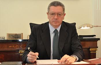Alberto Ruiz Gallardón, ministro de Justicia - Foto Moncloa.