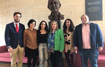 Presentación de la obra que se representará este viernes en el Buero, ganadora del premio nacional de Fundación Coca-Cola en Teatro Joven.