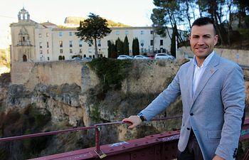 David Prieto, secretario de Organización Cs Cuenca.