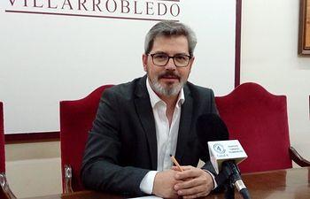 Juan Luis Íñiguez, concejal de Hacienda en el Ayuntamiento de Villarrobledo.