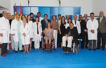 Cospedal inaugura el nuevo edificio del Hospital Nacional de Parapléjicos. Foto: JCCM.