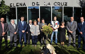 Homenaje a la exconsejera de Fomento Elena de la Cruz. (Fotos: José Ramón Márquez // JCCM)