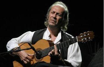 El guitarrista flamenco Paco de Lucía. Foto: EFE.