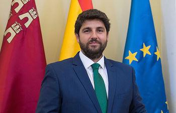 Fernando López Miras, presidente de la Comunidad de Murcia.