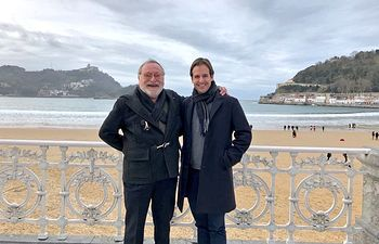 Cristiano Brown y Fernando Savater.