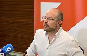 Alejandro Ruiz, secretario de Organización de Ciudadanos en Castilla-La Mancha y presidente del Grupo Parlamentario en las Cortes regionales.